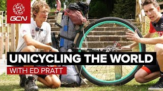 Around The World On A Unicycle! | GCN Meets Ed Pratt