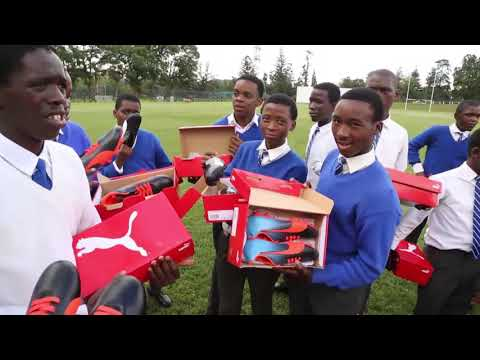 SARLA AND MARITZBURG COLLEGE GIVE BACK TO THE GAME