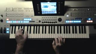 GUITAR TANGO - The Shadows - Instrumentalcover auf Yamaha Tyros 4