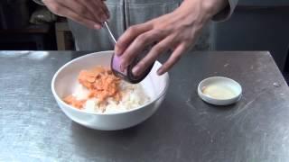 Salmon And Seaweed Rice Ball