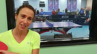 ITTF Parkinsons' World Table Tennis Championships: Story of Margie Alley (USA)
