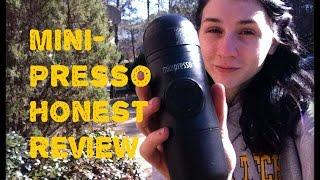 Honest Review: The MiniPresso Portable Espresso Maker