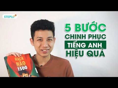 cách sử dụng sách hack não 1500 từ tiếng anh - 5 BƯỚC CHINH PHỤC TIẾNG ANH HIỆU QUẢ CÙNG SÁCH HACK NÃO 1500