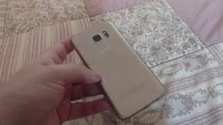 Problema maluco com câmera do Samsung Galaxy S7