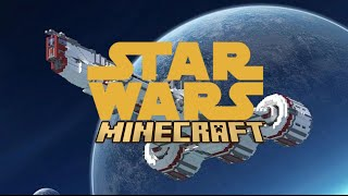 MINECRAFT STAR WARS MOVIE - EPISODE 1 - 3 MODS IN 1 MAP - Minecraft Showcase