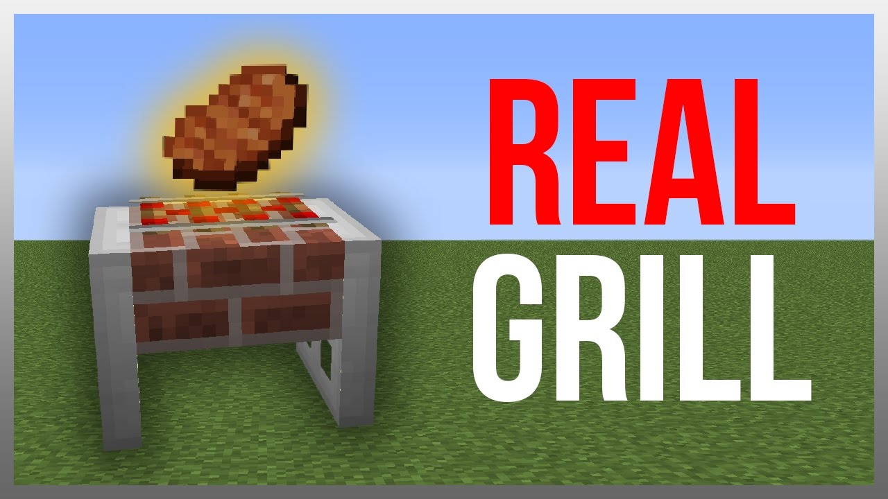 Minecraft 112 redstone tutorial working grill youtube baditri Images