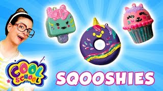 Color Me Sqooshies: DIY Squishy! Donut, Popsicle, & Cupcake! | Arts and Crafts with Crafty Carol