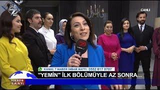 Kanal 7'nin Yeni Dizisi 'Yemin' Setinden Canlı Yayın