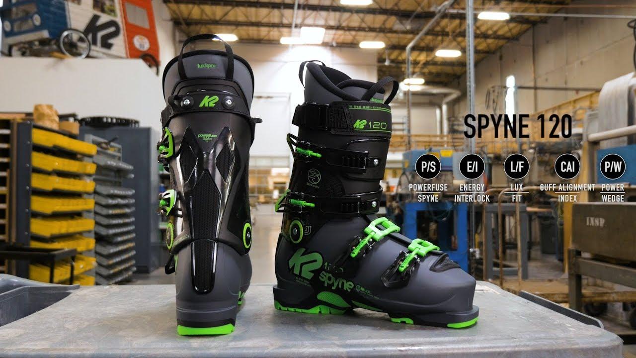K2 Spyne 120 Heat Ski Boot Review