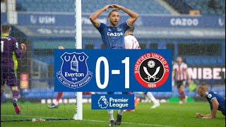 Everton 0-1 Sheffield United  Premier League Highlights