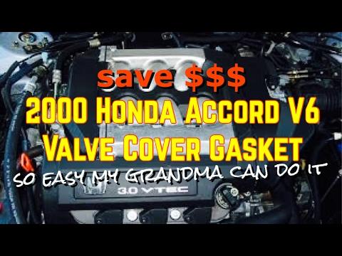 2000 honda accord v6 valve cover gasket