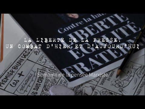 La liberté de la presse, un combat d'hier et d'aujourd'hui