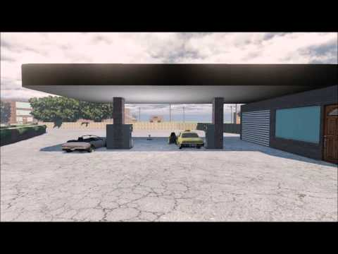 Jamie Sheridan Urban Environment Walkthrough