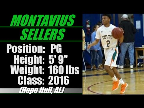 2016-'Street Light Recruiting' PG- Montavius Sellers -HOOPER ACADEMY- (Hope Hull, AL)