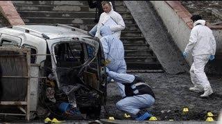 اصابة ستة عشر شخصا عقب انفجار عبوة ناسفة في اسطنبول