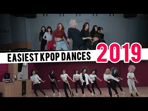TOP16 MOST EASIEST KPOP DANCES OF 2019  My Personal Opinion