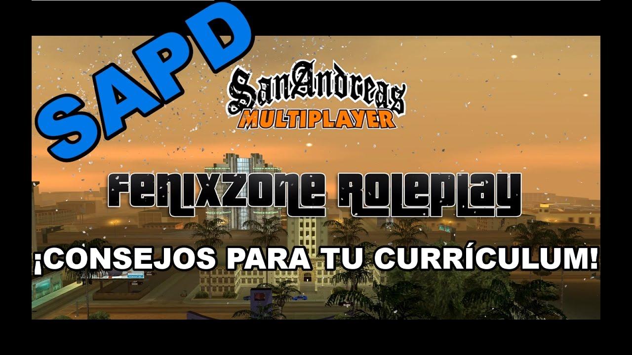 SAPD | CONSEJOS PARA HACER TU CURRÍCULUM EN FZ. - YouTube
