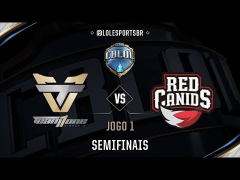 Team oNe x Red Canids (Jogo 1 - Semifinal) - CBLoL 2017