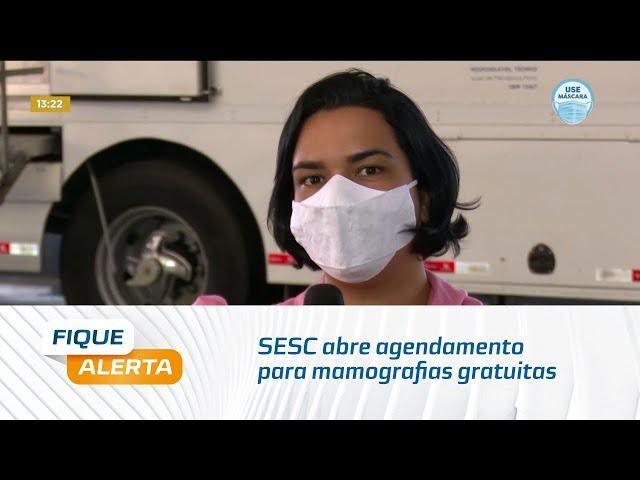 SESC abre agendamento para mamografias gratuitas