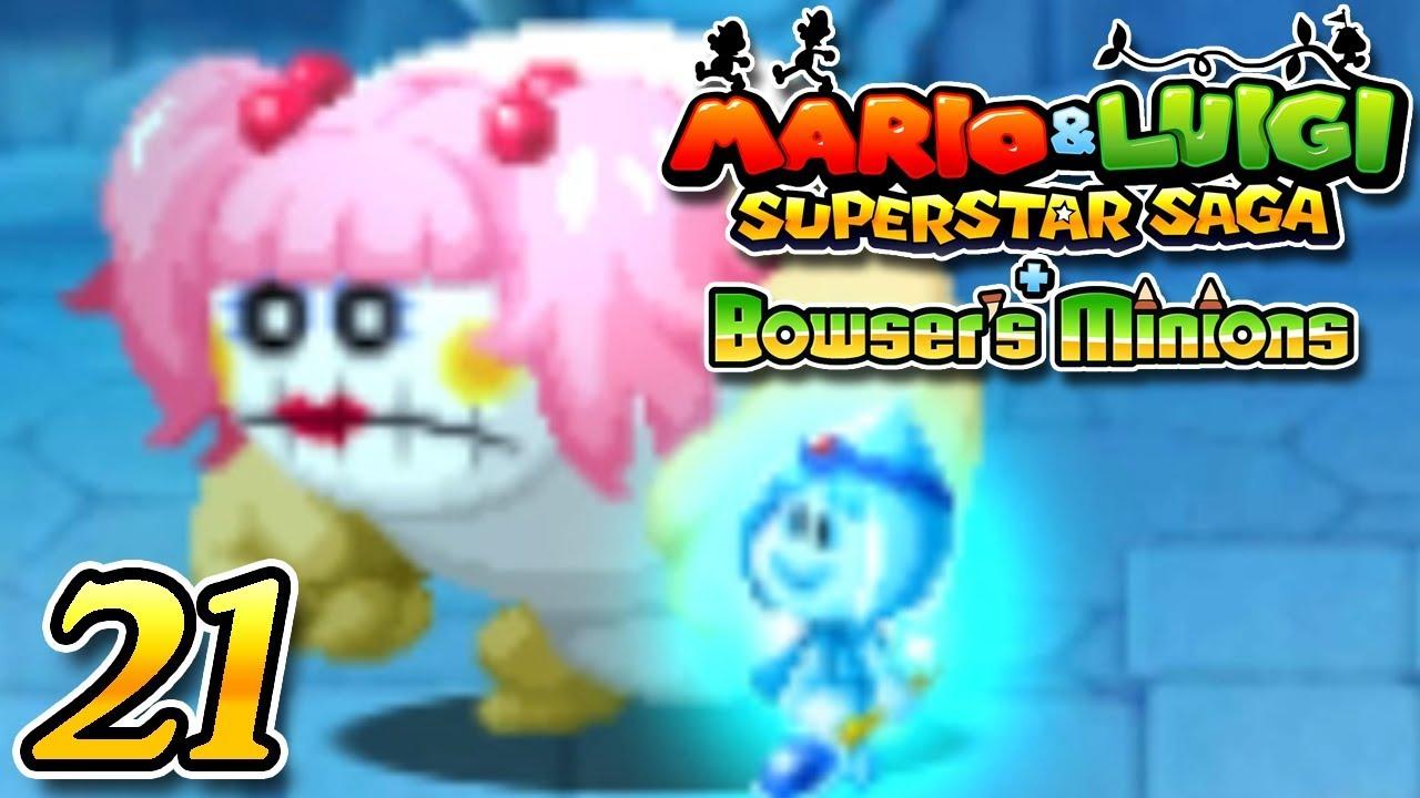 Mario Luigi Superstar Saga Bowser S Minions Part 21 Joke S End Boss Jojora 3ds Gameplay