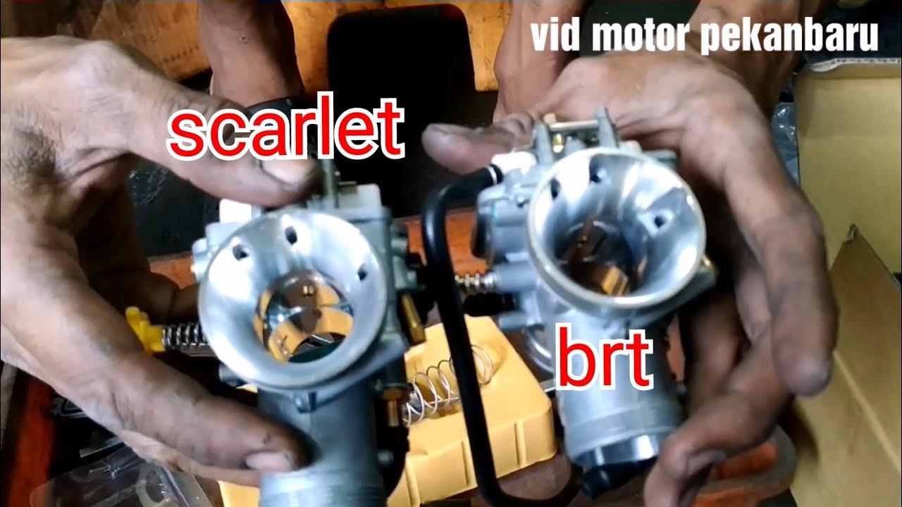Unboxing Karburator Pe 28 Brt dan Scarlet - YouTube