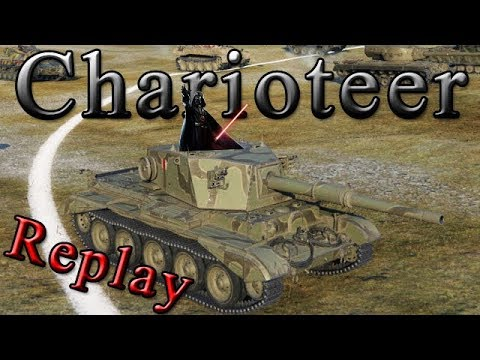 "WoT [Replay 192 | Charioteer] ""keine Angst"" World of Tanks [ deutsch ][ Krawumm ]"