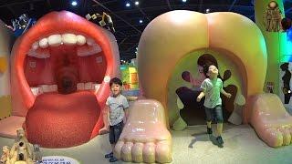 Зашли в рот, прошли желудок и вышли из... Детский музей науки и техники. 인 인천어린이과학관은