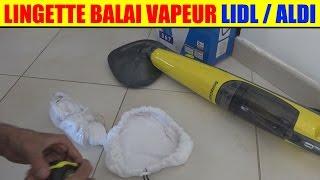 lingette balai vapeur silvercrest lidl sdm 1500 et aldi quigg md 14448 test