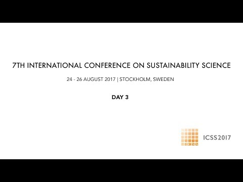 7th International Conference on Sustainability Science - Day 3