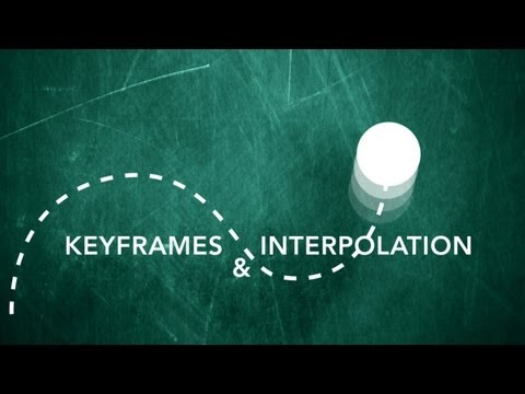 After Effects Tutorial - Keyframes & Interpolation