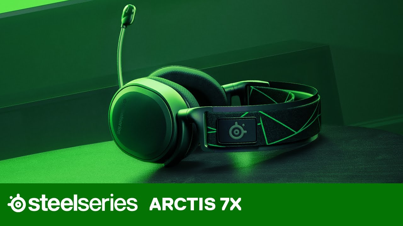 Arctis 7X Headset for Microsoft Xbox One and Next-Gen Xbox Series X and  Series S | SteelSeries - YouTube