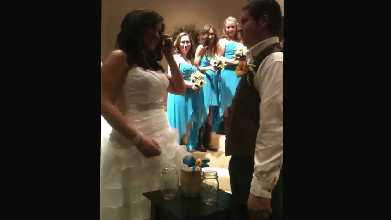 Sister Realizes Brother In Army Is Watching Her Wedding