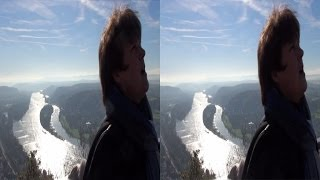 3D video - Bonn - Drachenfels - YT3D