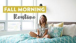 Fall Morning Routine | Self Care Routine