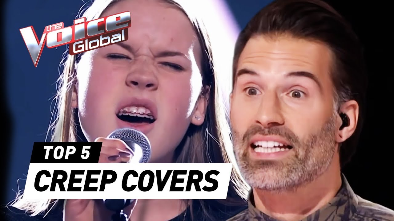 Best Creep Covers Radiohead In The Voice Kids Youtube