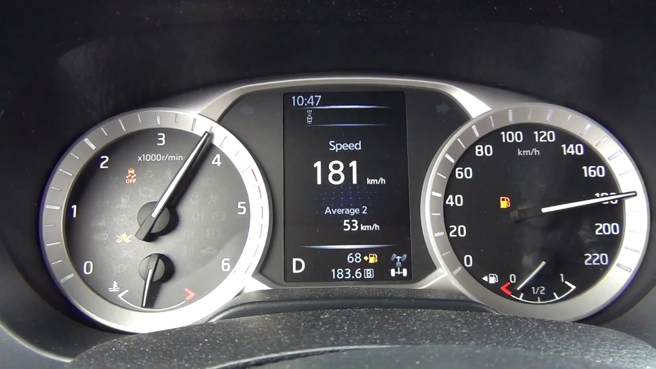 Speed Test Frontier >> Nissan Navara Tekna 2.3 dCi 190KM 7AT - acceleration 0-190 ...