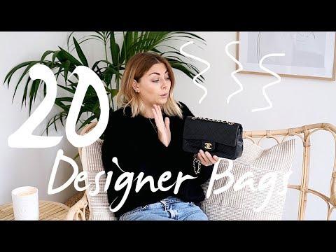 Designer Handbag Collection 2018   20 Bags   Emma Hill