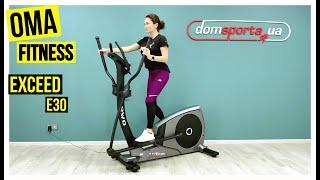 Видео о  Орбитрек OMA Fitness Exceed E30 (8502)