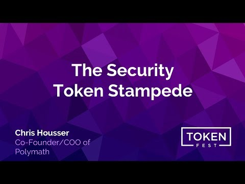 Chris Housser - The Security Token Stampede