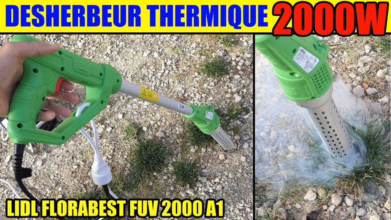 Thermique Florabestparkside Lidl A1Hot Weed Puv Desherbeur 2000 Air Killer 8nmN0wv