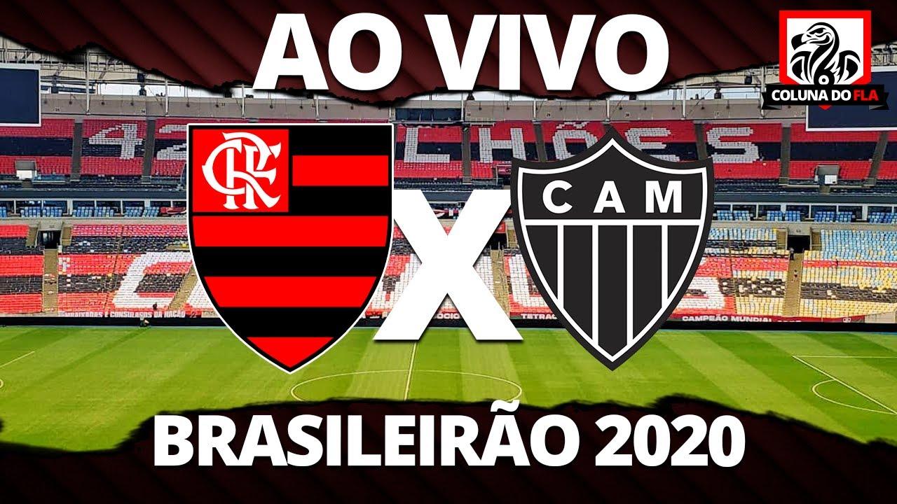 FLAMENGO X ATLÉTICO-MG AO VIVO -TRANSMISSÃO 1ª RODADA BRASILEIRÃO 2020 - NARRAÇÃO RUBRO-NEGRA