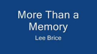 lee brice memory.wmv
