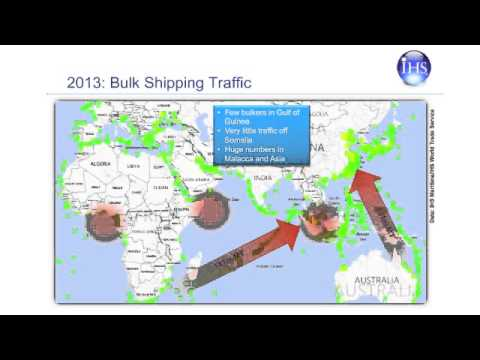 Global maritime piracy trends 2014
