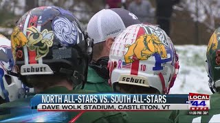 North cruises past South in senior all-star game