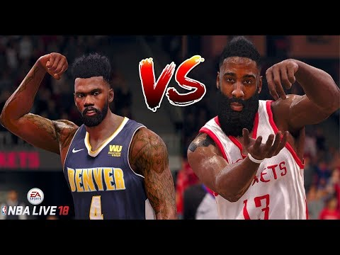 NBA LIVE 18 THE ONE CAREER - DEMANDING A TRADE!? MVP MATCHUP JAMES HARDEN COOKS IT UP!