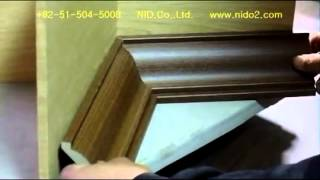 How to cut crown molding by Multi Angle Finder for compound miter saw