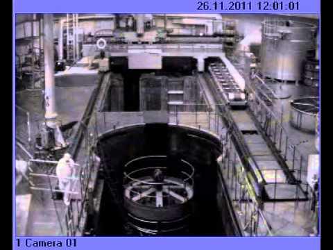 Видео аварии на Калининской АЭС 26 ноября 2011