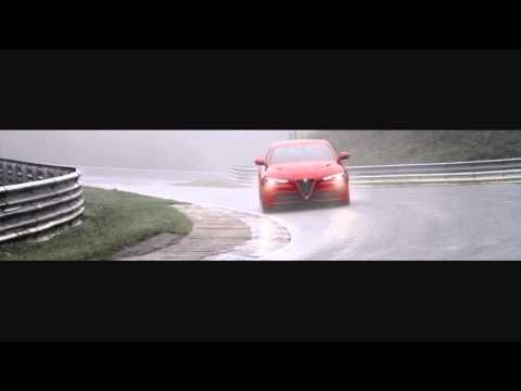 Demo Alfa Romeo Giulia Quadrifoglio @ Nurburgring