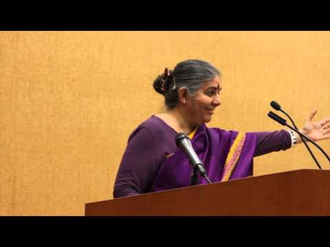 Making Peace with the Earth and Ending Our Separation from It — Vandana Shiva