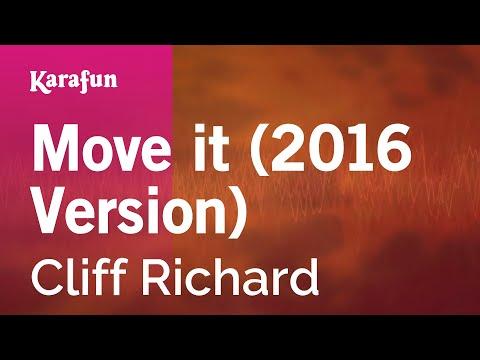 Karaoke Move it (2016 Version) - Cliff Richard *